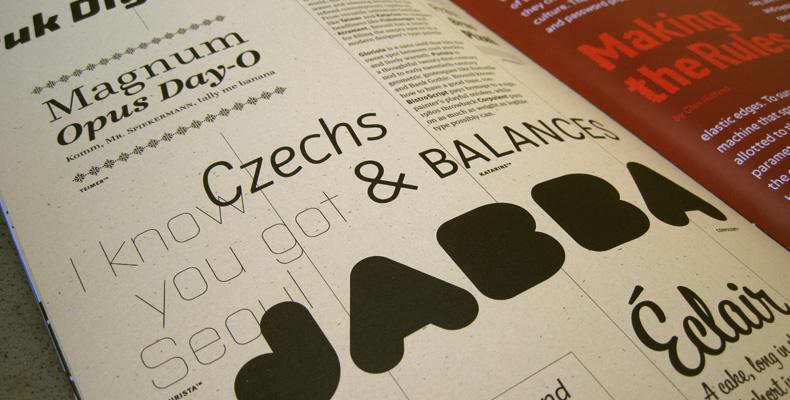 Font magazine 007